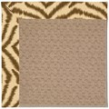 Capel Rugs Creative Concepts Grassy Mountain - Couture King Chestnut (756) Octagon 8