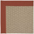 Capel Rugs Creative Concepts Grassy Mountain - Canvas Brick (850) Octagon 8