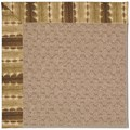 Capel Rugs Creative Concepts Grassy Mountain - Java Journey Chestnut (750) Octagon 10