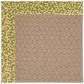 Capel Rugs Creative Concepts Grassy Mountain - Coral Cascade Avocado (225) Octagon 12