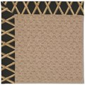 Capel Rugs Creative Concepts Grassy Mountain - Bamboo Coal (356) Octagon 12