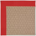 Capel Rugs Creative Concepts Grassy Mountain - Canvas Jockey Red (527) Octagon 12