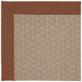 Capel Rugs Creative Concepts Grassy Mountain - Linen Chili (845) Octagon 12