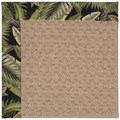 Capel Rugs Creative Concepts Grassy Mountain - Bahamian Breeze Coal (325) Rectangle 6