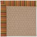Capel Rugs Creative Concepts Grassy Mountain - Tuscan Stripe Adobe (825) Rectangle 8