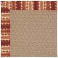 Capel Rugs Creative Concepts Grassy Mountain - Java Journey Henna (580) Rectangle 9