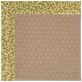 Capel Rugs Creative Concepts Grassy Mountain - Coral Cascade Avocado (225) Rectangle 12' x 15' Area Rug