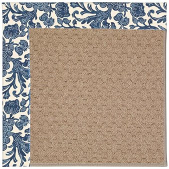 Capel Rugs Creative Concepts Grassy Mountain - Batik Indigo (415) Rectangle 12' x 15' Area Rug