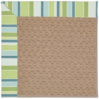 Capel Rugs Creative Concepts Grassy Mountain - Capri Stripe Breeze (430) Rectangle 12' x 15' Area Rug