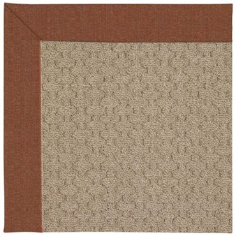 Capel Rugs Creative Concepts Grassy Mountain - Linen Chili (845) Rectangle 12' x 15' Area Rug
