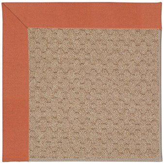Capel Rugs Creative Concepts Grassy Mountain - Canvas Persimmon (847) Rectangle 12' x 15' Area Rug