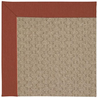 Capel Rugs Creative Concepts Grassy Mountain - Canvas Brick (850) Rectangle 12' x 15' Area Rug