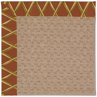Capel Rugs Creative Concepts Grassy Mountain - Bamboo Cinnamon (856) Rectangle 12' x 15' Area Rug