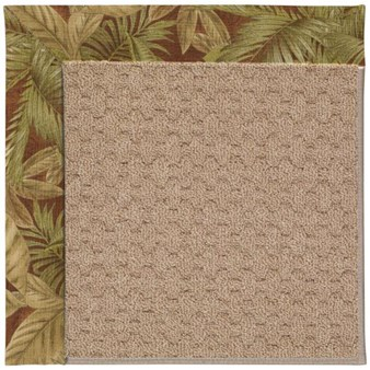 Capel Rugs Creative Concepts Grassy Mountain - Bahamian Breeze Cinnamon (875) Rectangle 12' x 15' Area Rug
