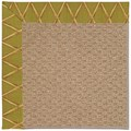 Capel Rugs Creative Concepts Raffia - Bamboo Tea Leaf (236) Octagon 4