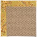 Capel Rugs Creative Concepts Raffia - Cayo Vista Tea Leaf (210) Octagon 8