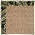 Capel Rugs Creative Concepts Raffia - Bahamian Breeze Coal (325) Octagon 8