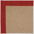 Capel Rugs Creative Concepts Raffia - Canvas Cherry (537) Octagon 8