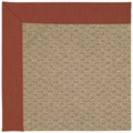 Capel Rugs Creative Concepts Raffia - Canvas Brick (850) Octagon 8