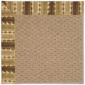 Capel Rugs Creative Concepts Raffia - Java Journey Chestnut (750) Octagon 10