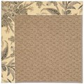 Capel Rugs Creative Concepts Raffia - Cayo Vista Graphic (315) Octagon 12