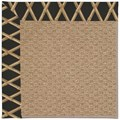 Capel Rugs Creative Concepts Raffia - Bamboo Coal (356) Octagon 12