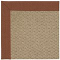 Capel Rugs Creative Concepts Raffia - Linen Chili (845) Octagon 12