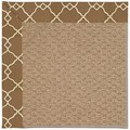 Capel Rugs Creative Concepts Raffia - Arden Chocolate (746) Runner 2