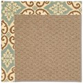 Capel Rugs Creative Concepts Raffia - Shoreham Spray (410) Rectangle 4
