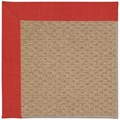 Capel Rugs Creative Concepts Raffia - Dupione Crimson (575) Rectangle 4
