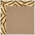 Capel Rugs Creative Concepts Raffia - Couture King Chestnut (756) Rectangle 6