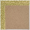Capel Rugs Creative Concepts Raffia - Coral Cascade Avocado (225) Rectangle 7