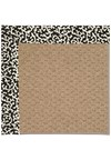 Capel Rugs Creative Concepts Raffia - Coral Cascade Ebony (385) Rectangle 8' x 10' Area Rug