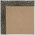 Capel Rugs Creative Concepts Raffia - Wild Thing Onyx (396) Rectangle 9