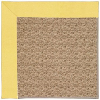 Capel Rugs Creative Concepts Raffia - Canvas Buttercup (127) Rectangle 12' x 15' Area Rug