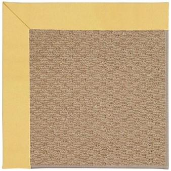 Capel Rugs Creative Concepts Raffia - Canvas Canary (137) Rectangle 12' x 15' Area Rug