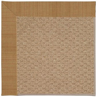 Capel Rugs Creative Concepts Raffia - Dupione Caramel (150) Rectangle 12' x 15' Area Rug