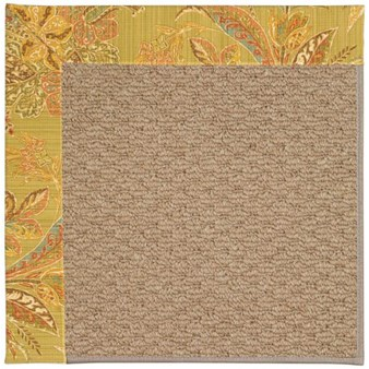 Capel Rugs Creative Concepts Raffia - Cayo Vista Tea Leaf (210) Rectangle 12' x 15' Area Rug