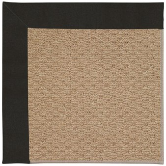 Capel Rugs Creative Concepts Raffia - Canvas Black (314) Rectangle 12' x 15' Area Rug