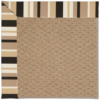 Capel Rugs Creative Concepts Raffia - Granite Stripe (335) Rectangle 12' x 15' Area Rug