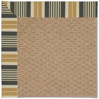 Capel Rugs Creative Concepts Raffia - Long Hill Ebony (340) Rectangle 12' x 15' Area Rug