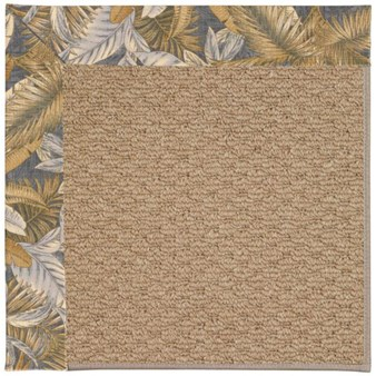 Capel Rugs Creative Concepts Raffia - Bahamian Breeze Ocean (420) Rectangle 12' x 15' Area Rug