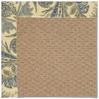 Capel Rugs Creative Concepts Raffia - Cayo Vista Ocean (425) Rectangle 12' x 15' Area Rug