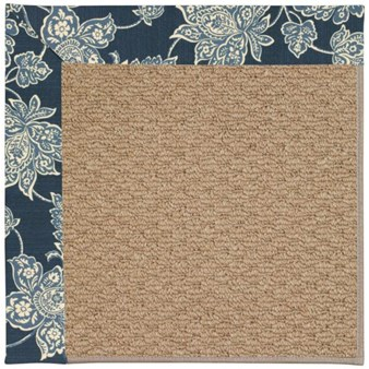 Capel Rugs Creative Concepts Raffia - Bandana Indigo (465) Rectangle 12' x 15' Area Rug