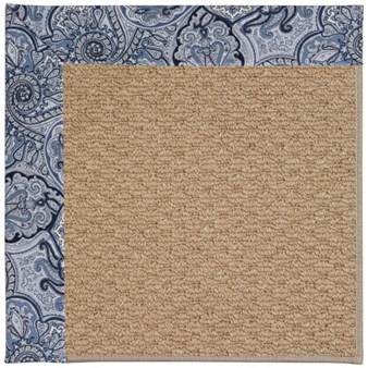 Capel Rugs Creative Concepts Raffia - Paddock Shawl Indigo (475) Rectangle 12' x 15' Area Rug