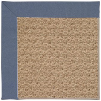 Capel Rugs Creative Concepts Raffia - Canvas Sapphire Blue (487) Rectangle 12' x 15' Area Rug