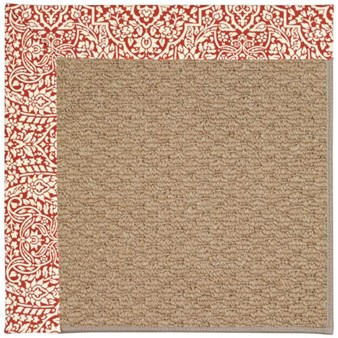Capel Rugs Creative Concepts Raffia - Imogen Cherry (520) Rectangle 12' x 15' Area Rug