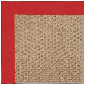 Capel Rugs Creative Concepts Raffia - Canvas Jockey Red (527) Rectangle 12' x 15' Area Rug