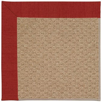 Capel Rugs Creative Concepts Raffia - Canvas Cherry (537) Rectangle 12' x 15' Area Rug