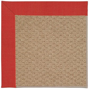 Capel Rugs Creative Concepts Raffia - Dupione Crimson (575) Rectangle 12' x 15' Area Rug